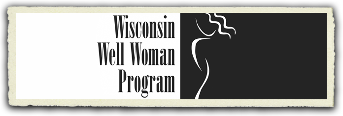 Wisconsin Well Woman Program Banner